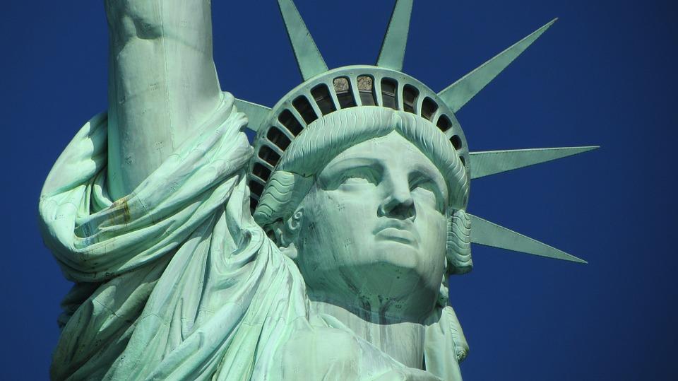 Socha svobody je symbolem New Yorku