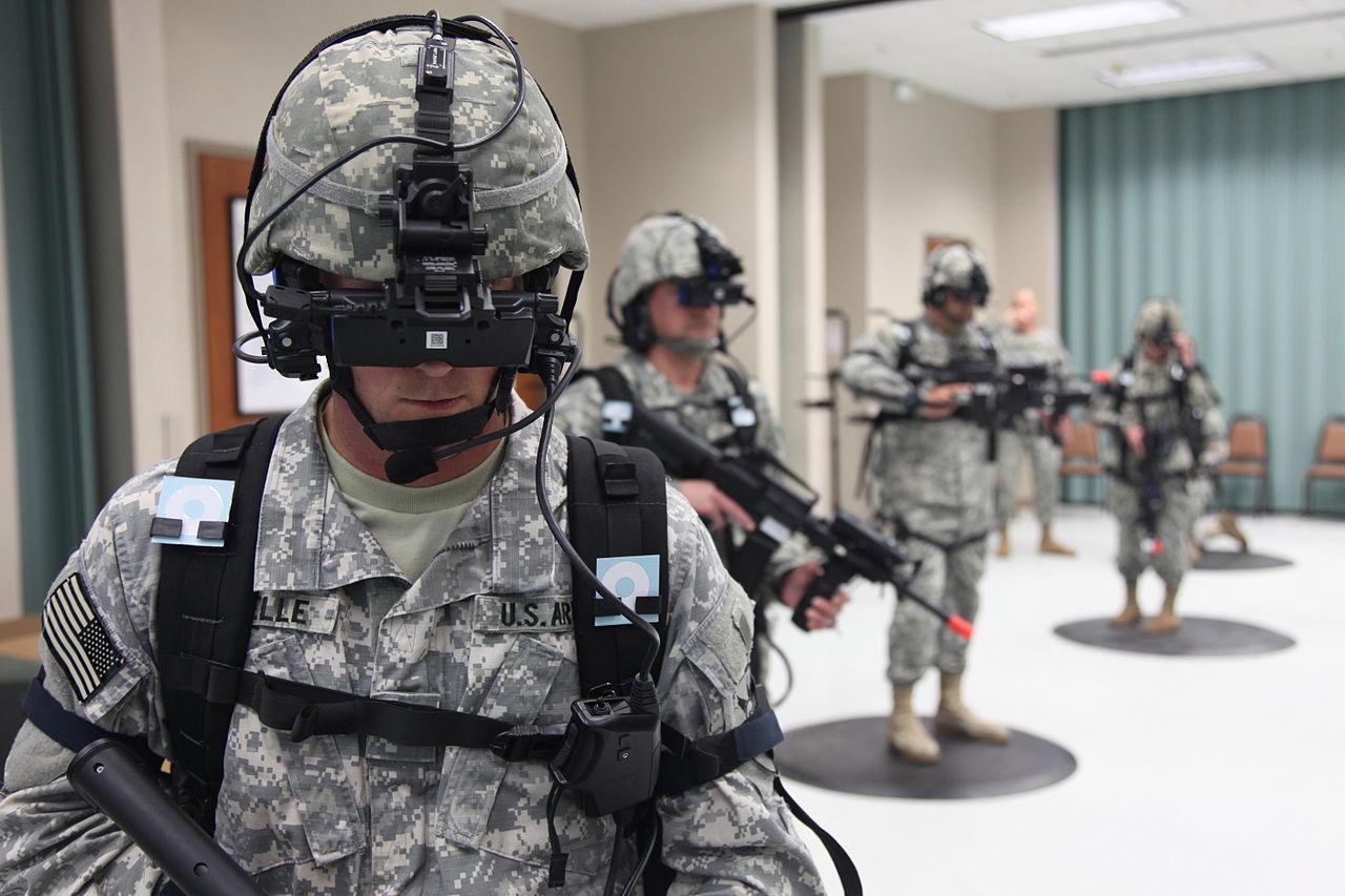 Američtí vojáci mohou s využitím virtuální reality cvičit, jako kdyby byli na ostré misi