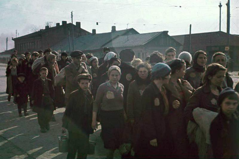 Židé v běloruském Minsku (1941)