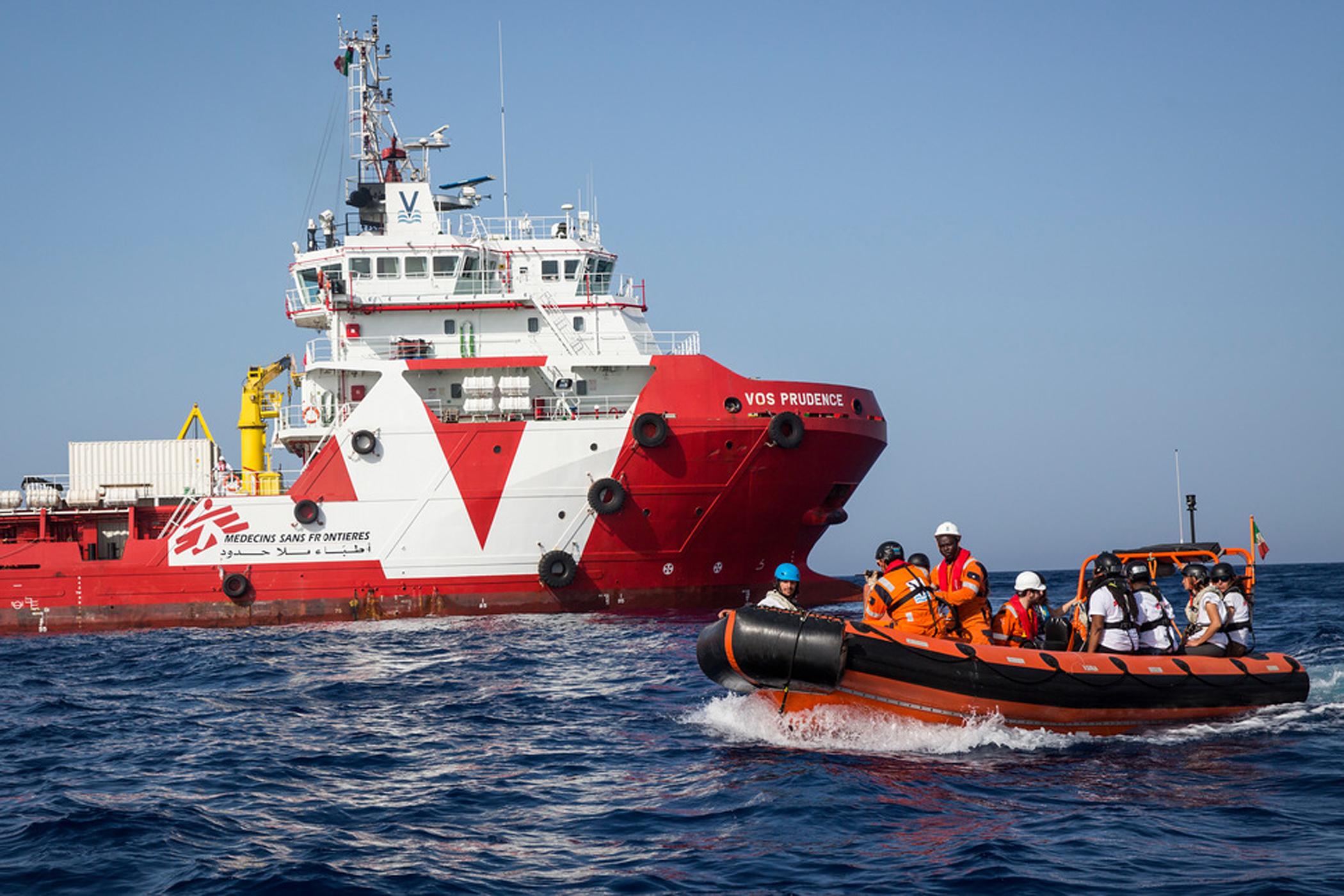 Záchranná akce Lékařů bez hranic