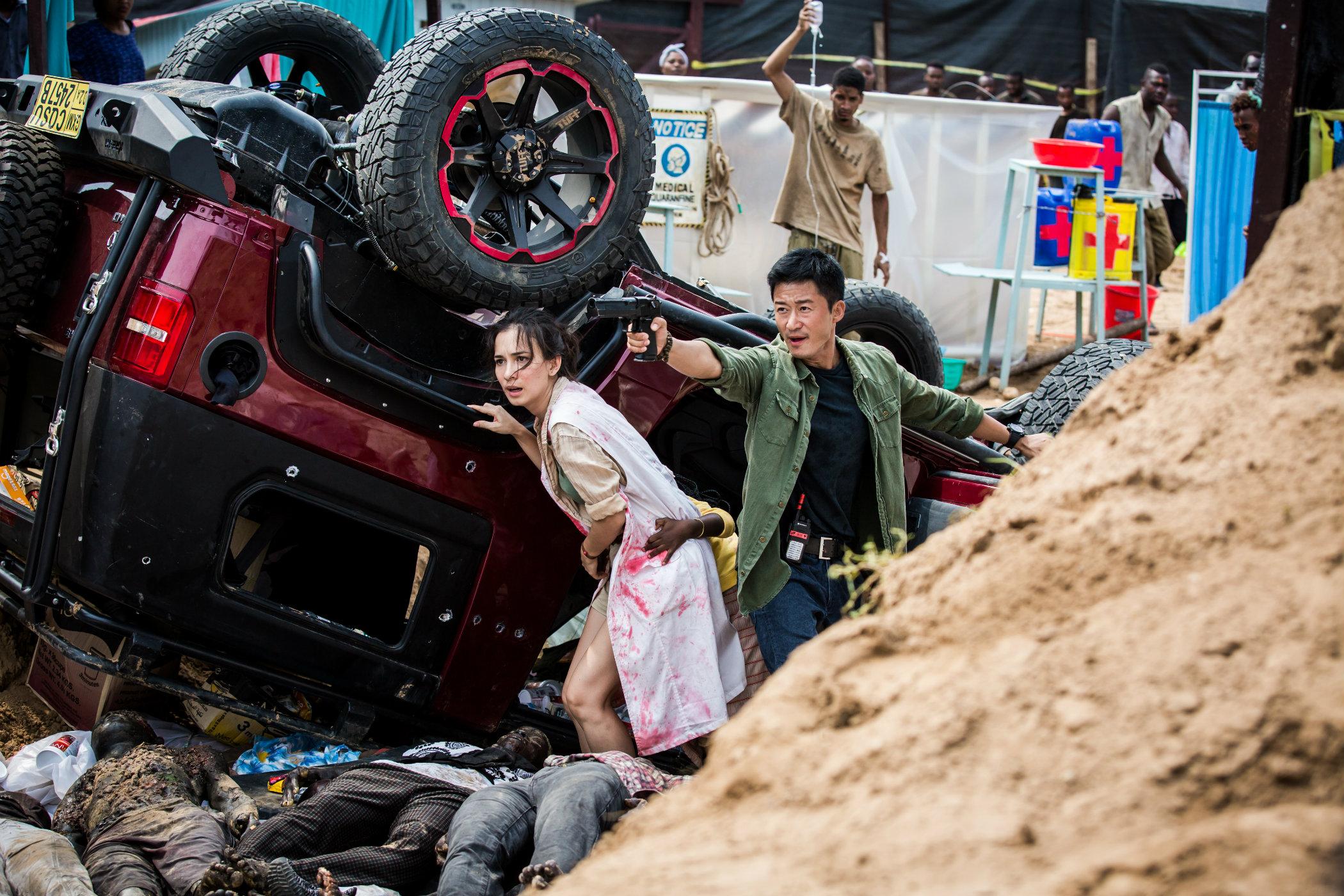 Vlastenecky laděný film Wolf Warrior 2 je v Číně hitem