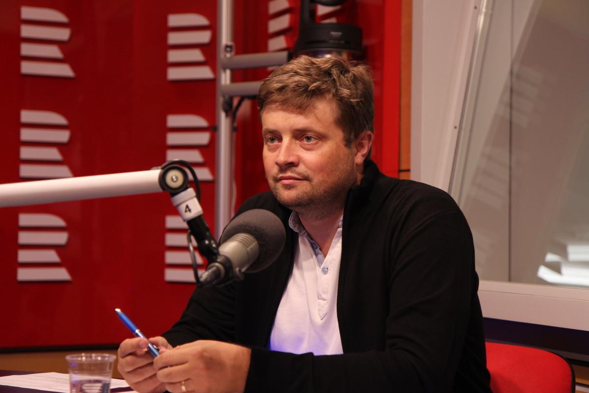 Martin Janeček odpovídal na otázky moderátorky Jany Klímové