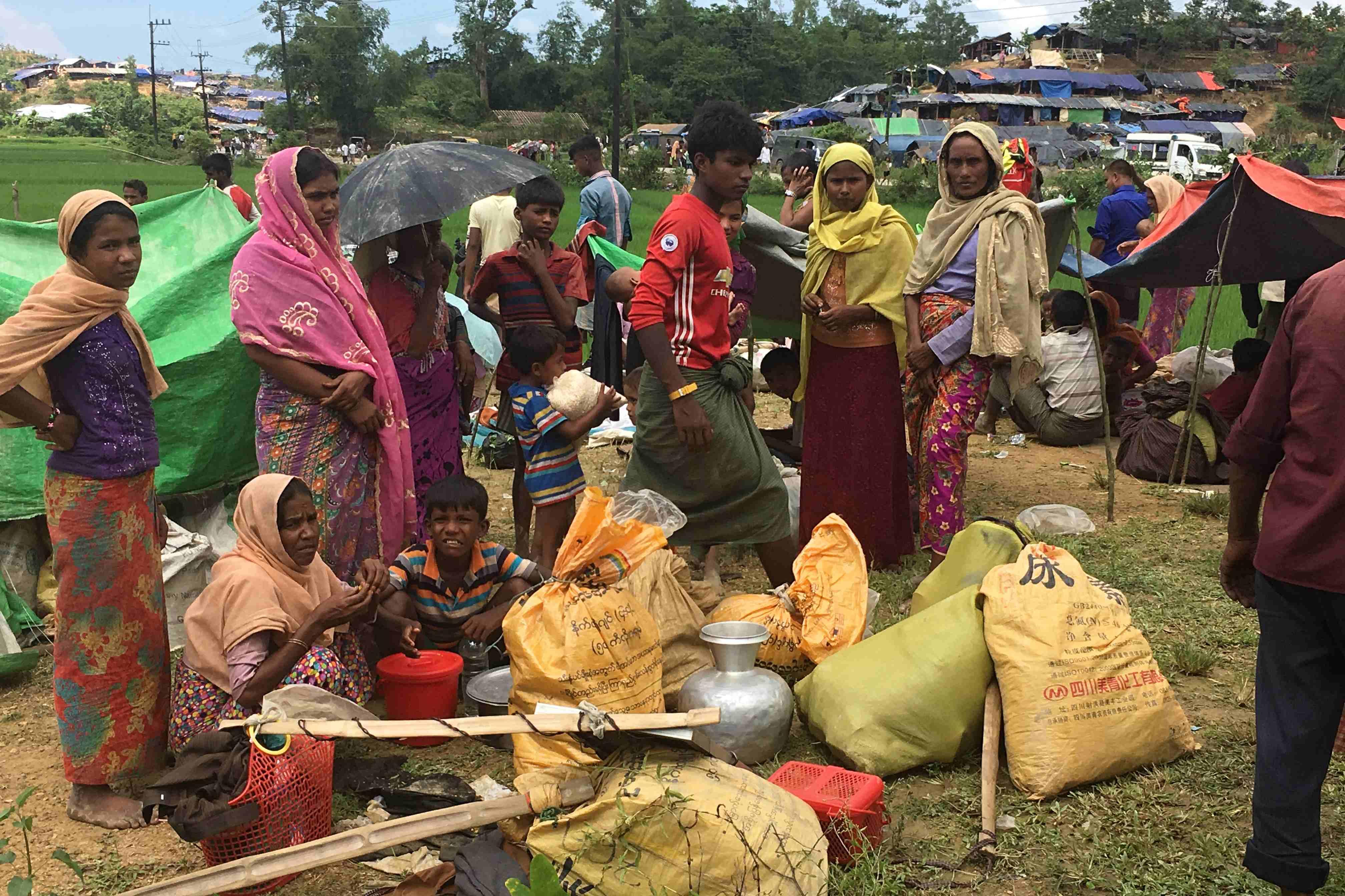 Mnozí z Rohingů nejedli před příchodem do tábora i několik dní