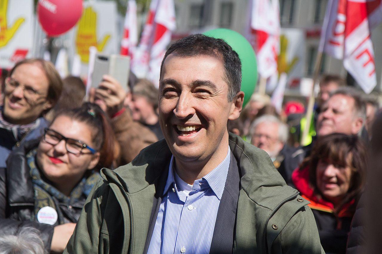 Šéf německé strany zelených Cem Özdemir