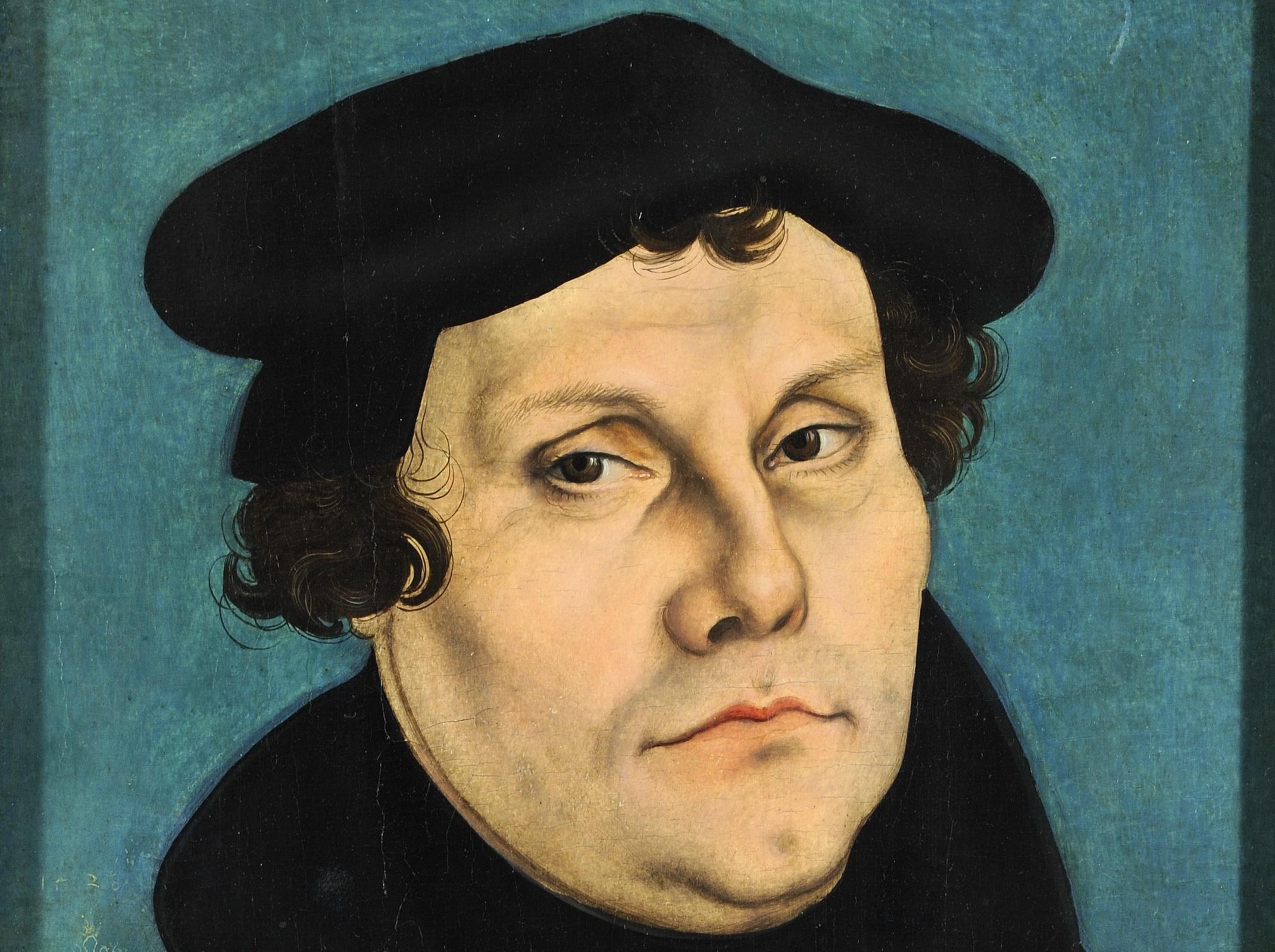 Lucas Cranach: Martin Luther