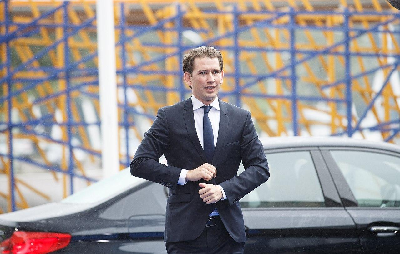 Sebastian Kurz, nový rakouský kancléř