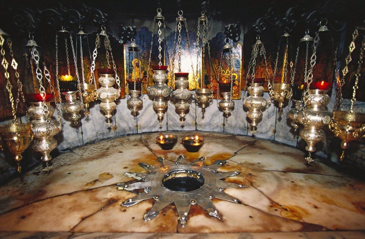 Bazilika Narození Páně v Betlémě