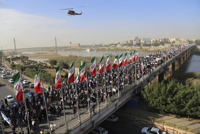 Zprávy o prvních demonstracích se objevily na konci roku na severu Íránu v převážně kurdských oblastech