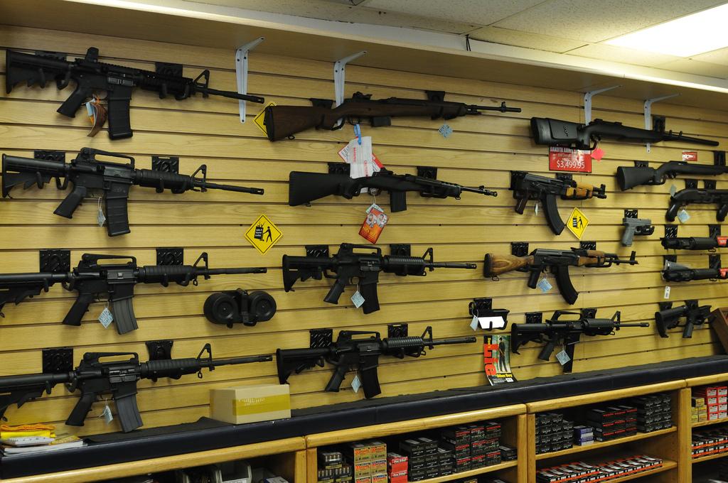 Obchod se zbraněmi ve Spojených státech