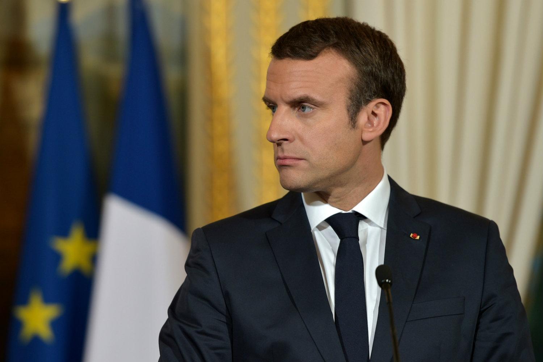 Francouzský prezident Emmanuel Macron
