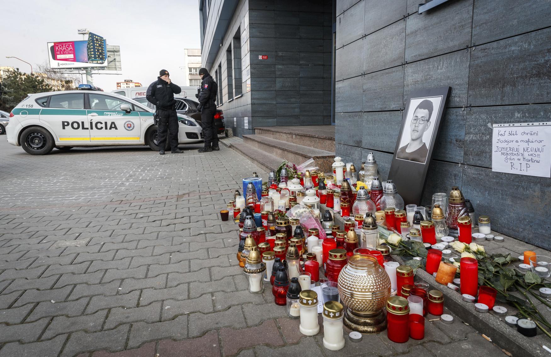 Slovensko hledá vraha, či vrahy investigativního novináře Jána Kuciaka
