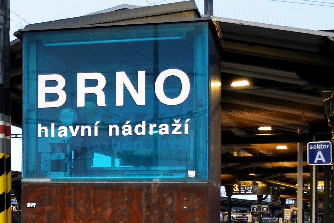 Brno, hlavní nádraží