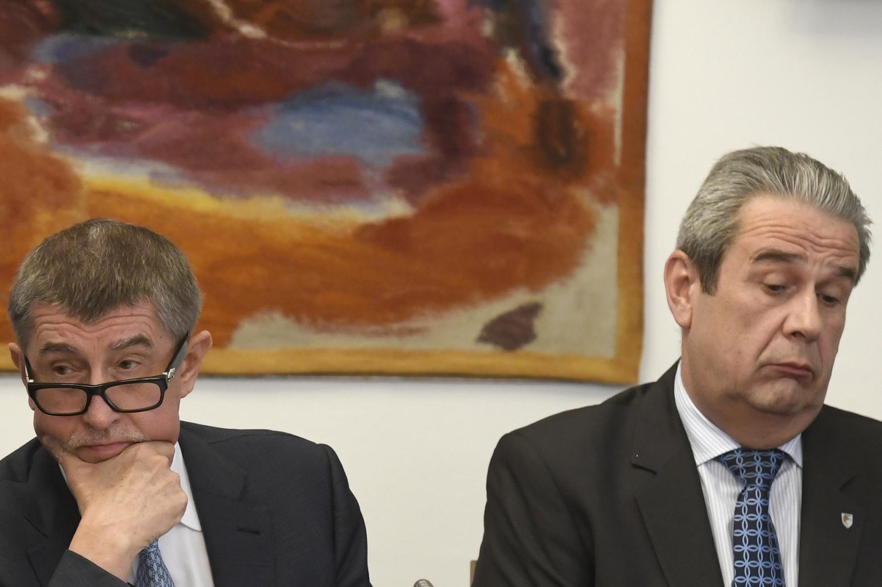Schůze sněmovního bezpečnostního výboru, na které premiér v demisi Andrej Babiš diskutoval o svých výhradách vůči řediteli Generální inspekce bezpečnostních sborů Michalu Murínovi