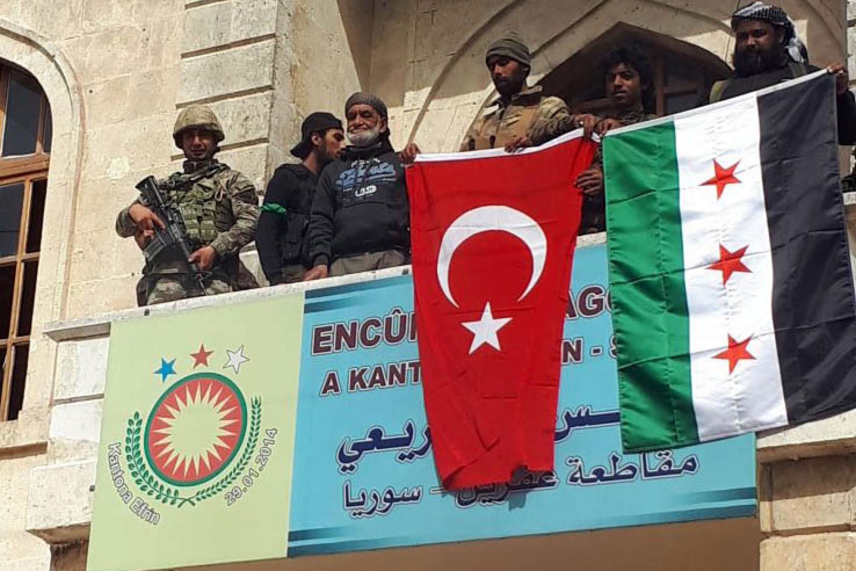 Sýrie, Turecko, boje