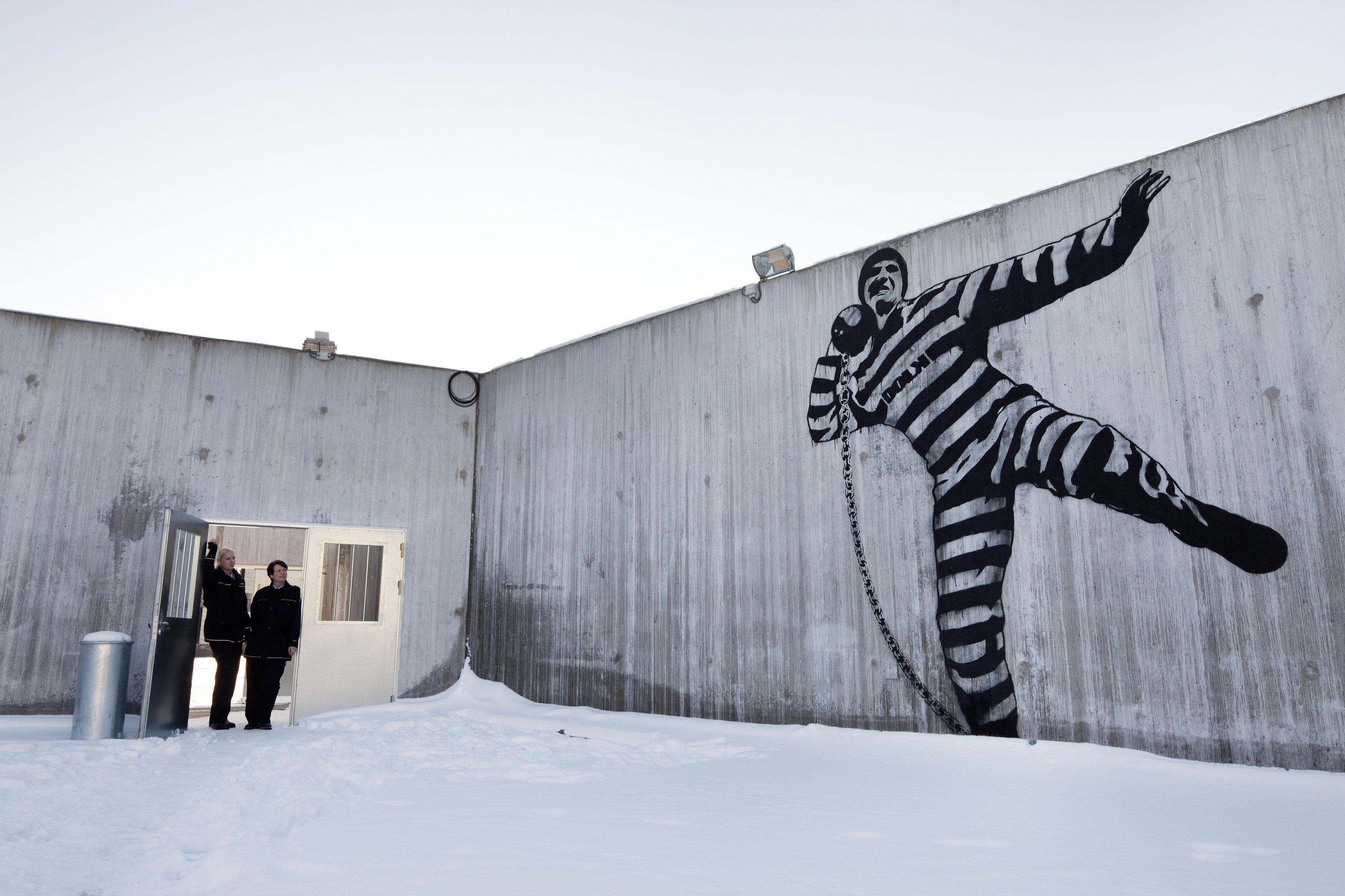Věznice Halden v Norsku