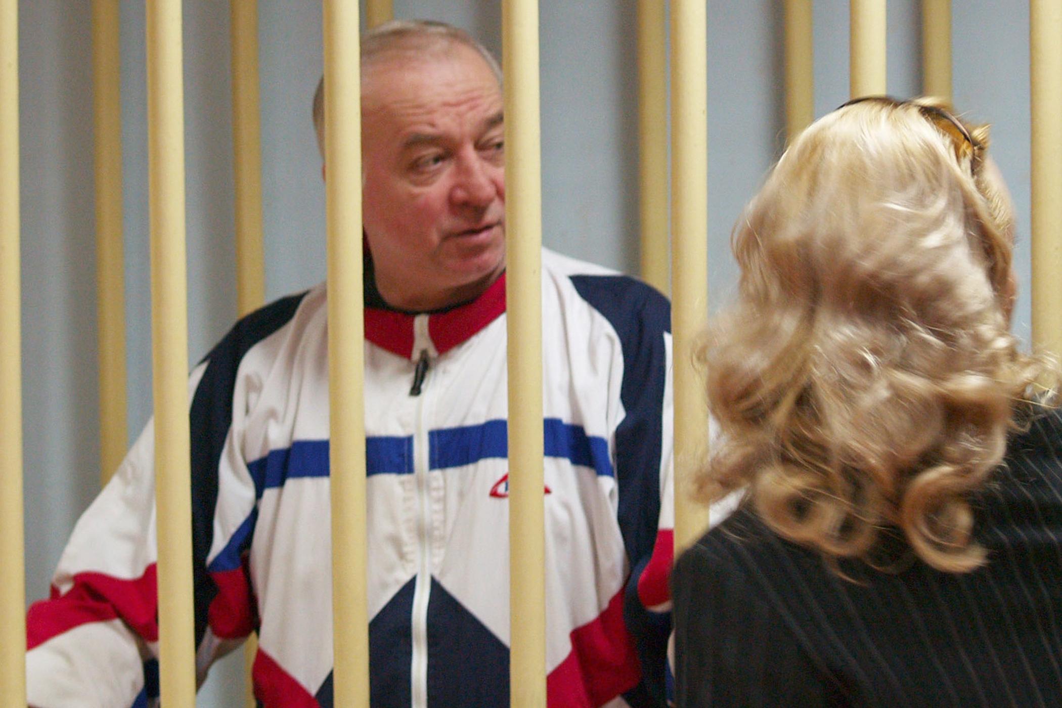 Bývalý ruský agent Sergej Skripal, otrávený letos v Británii, během soudu v Moskvě v roce 2006