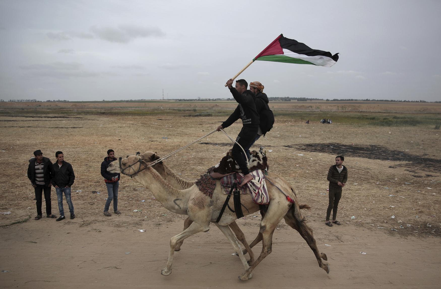 "Hnutí Hamás, které pásmo Gazy ovládá, si vymyslelo takzvaný ""pochod za návrat"" palestinských uprchlíků do Izraele"
