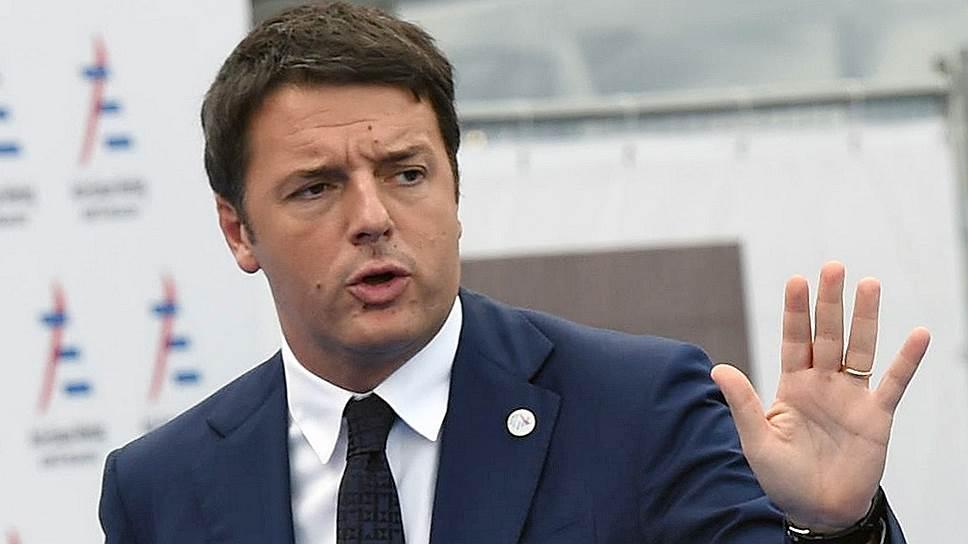 Matteo Renzi, lídr umírněné italské levice sdružené v Demokratické straně