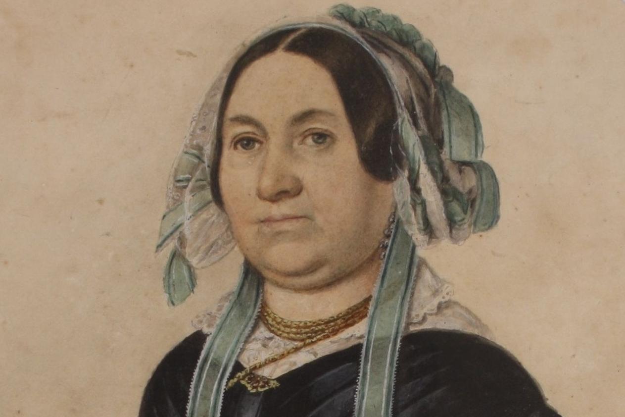 Magdalena Dobromila Rettigová (kolem roku 1840)