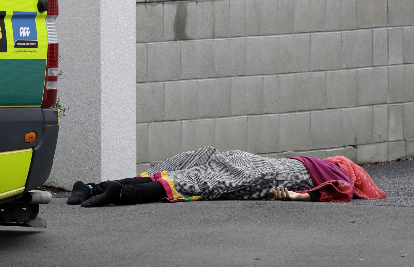 Hromadná střelba v mešitě na Novém Zélandu