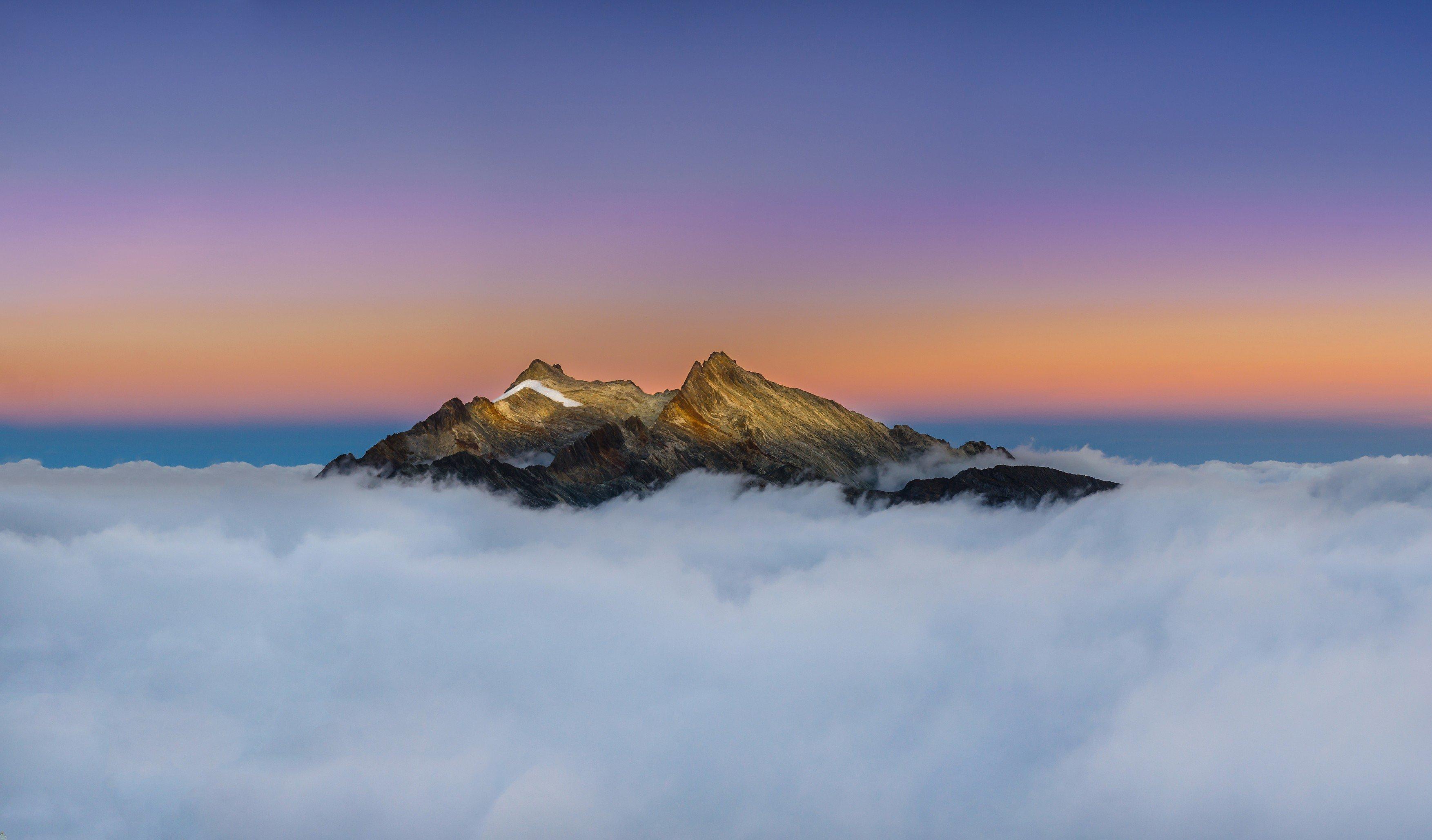 Pico Humboldt v pohoří Sierra Nevada