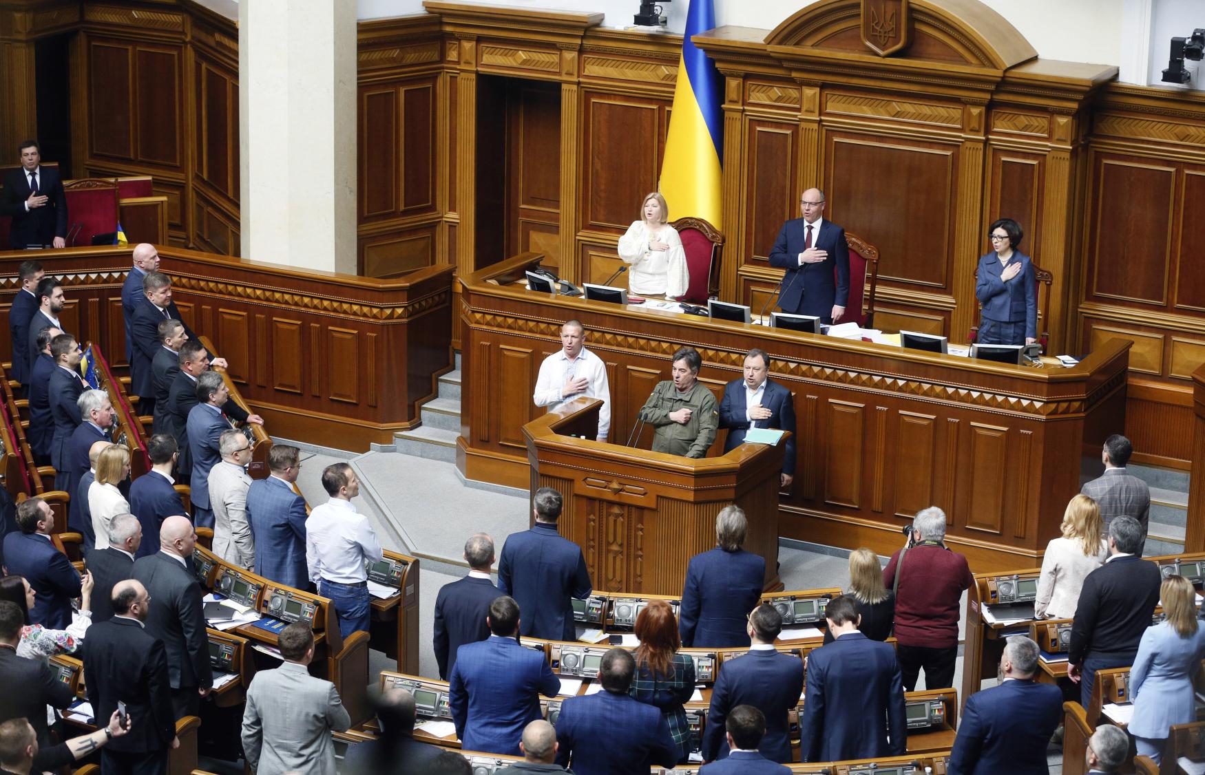 Ukrajinský parlament přijal zákon o ukrajinštině jakožto jediném státním jazyce