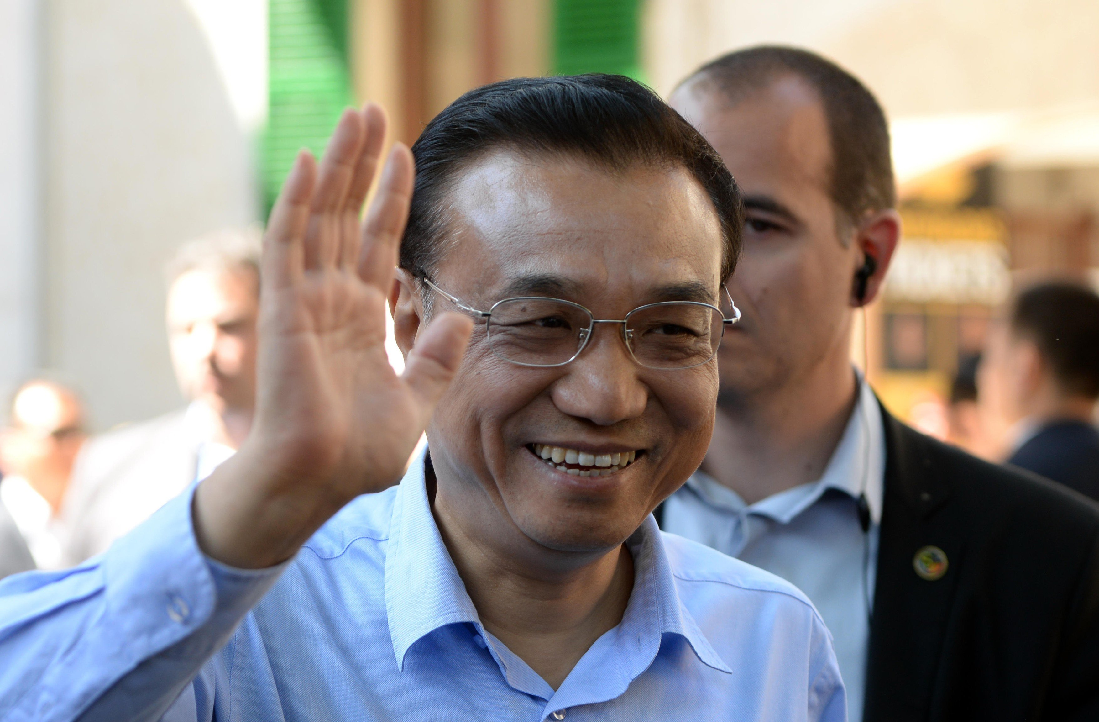 Čínský premiér Li Kche-čchiang