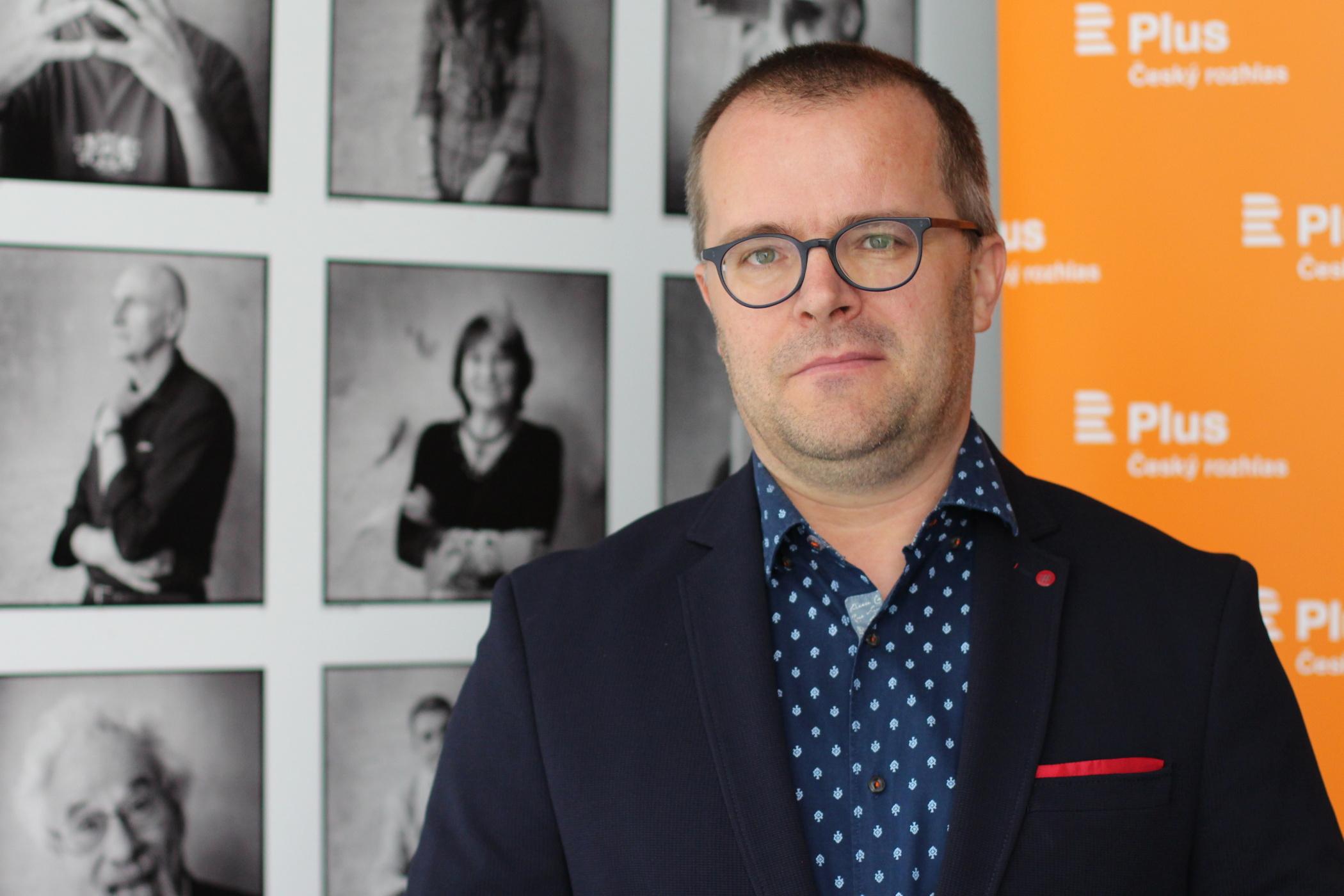 Novinář Josef Pazderka
