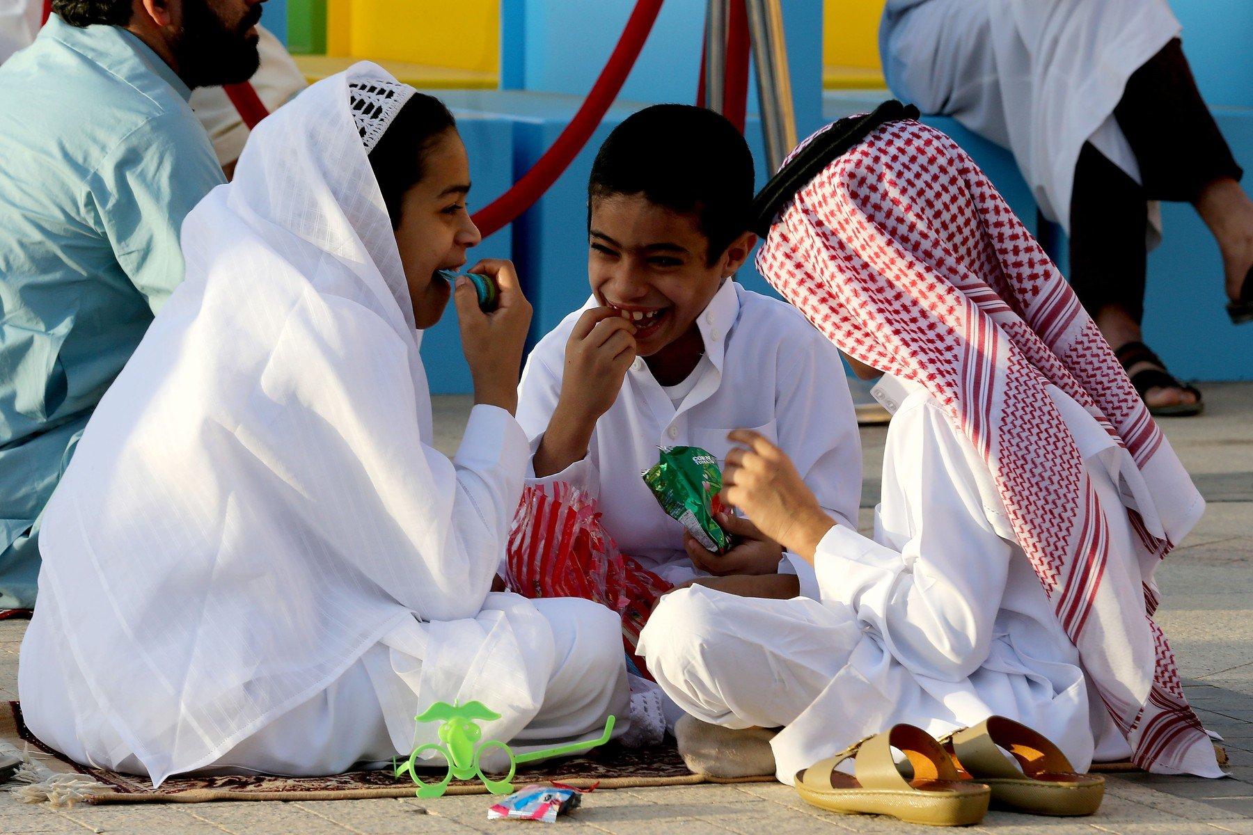 Děti v Saúdské Arábii