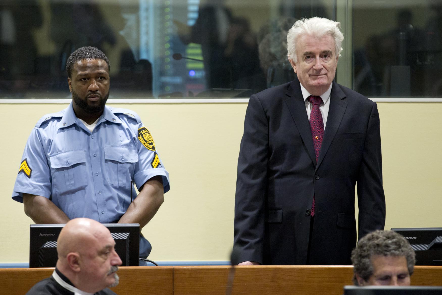 Bývalý vůdce bosenských Srbů Radovan Karadžić
