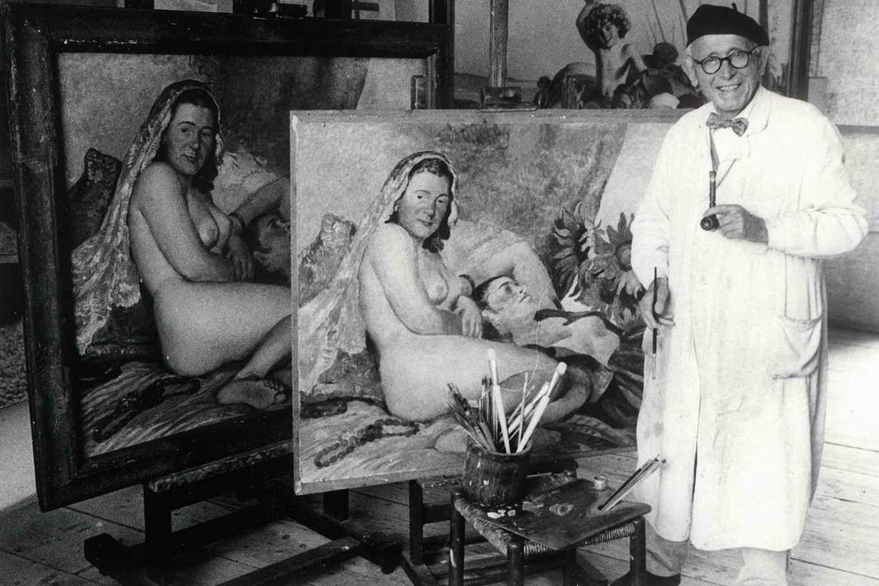 Malíř Oskar Brázda