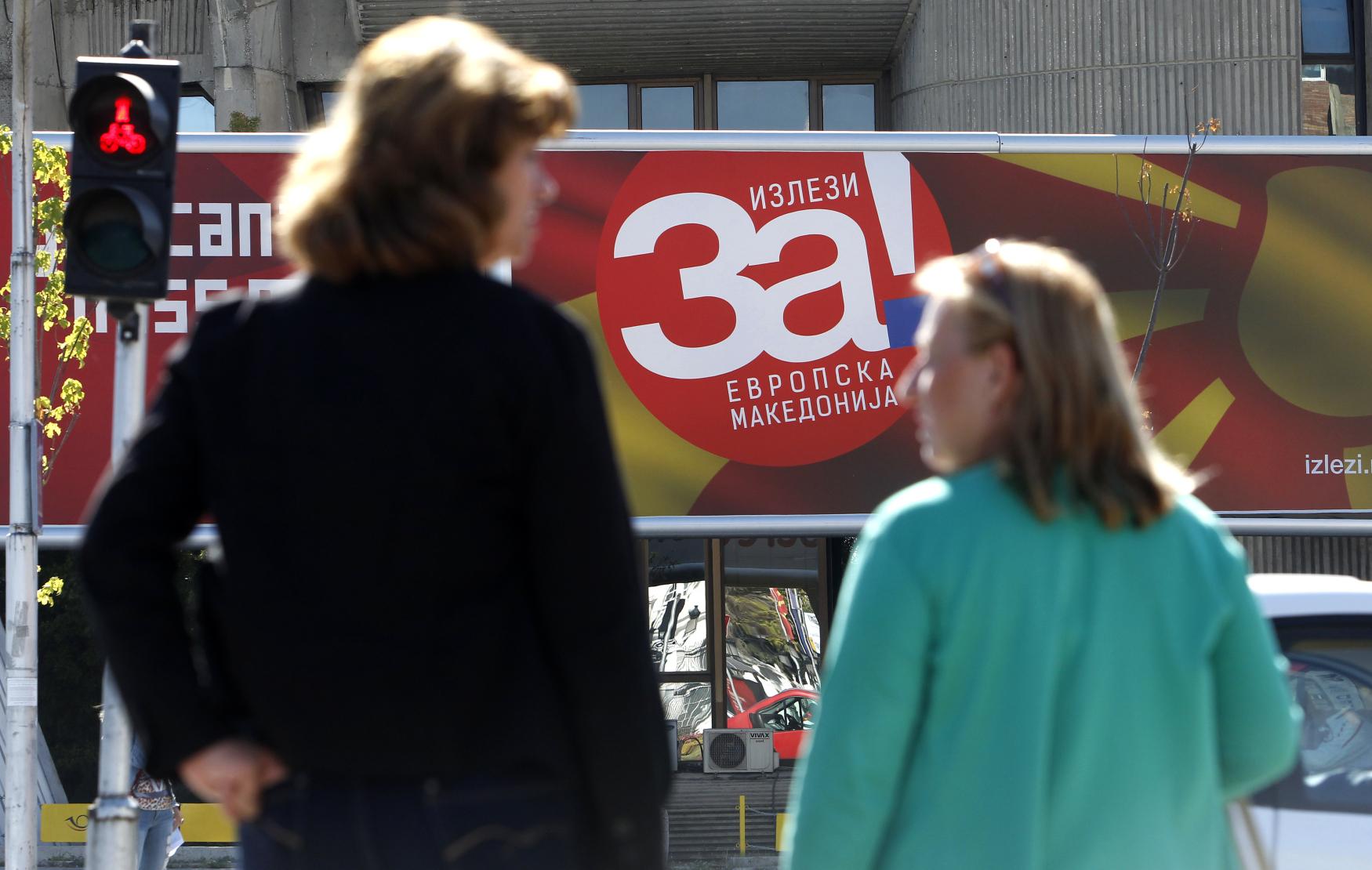 V referendu mají občané Republiky Makedonie vyslovit svůj názor o dohodě s Řeckem