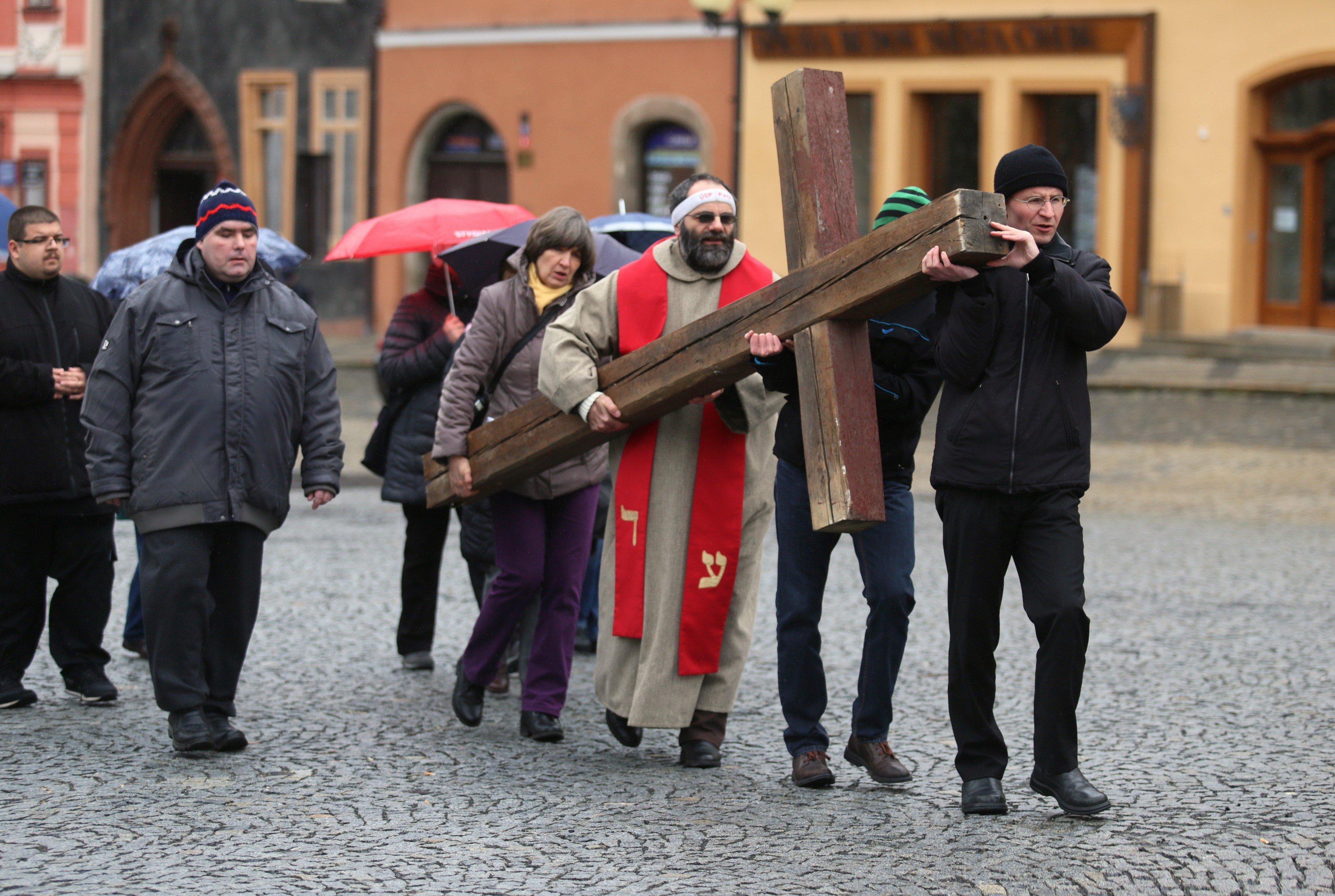 Velkopáteční Křížová cesta