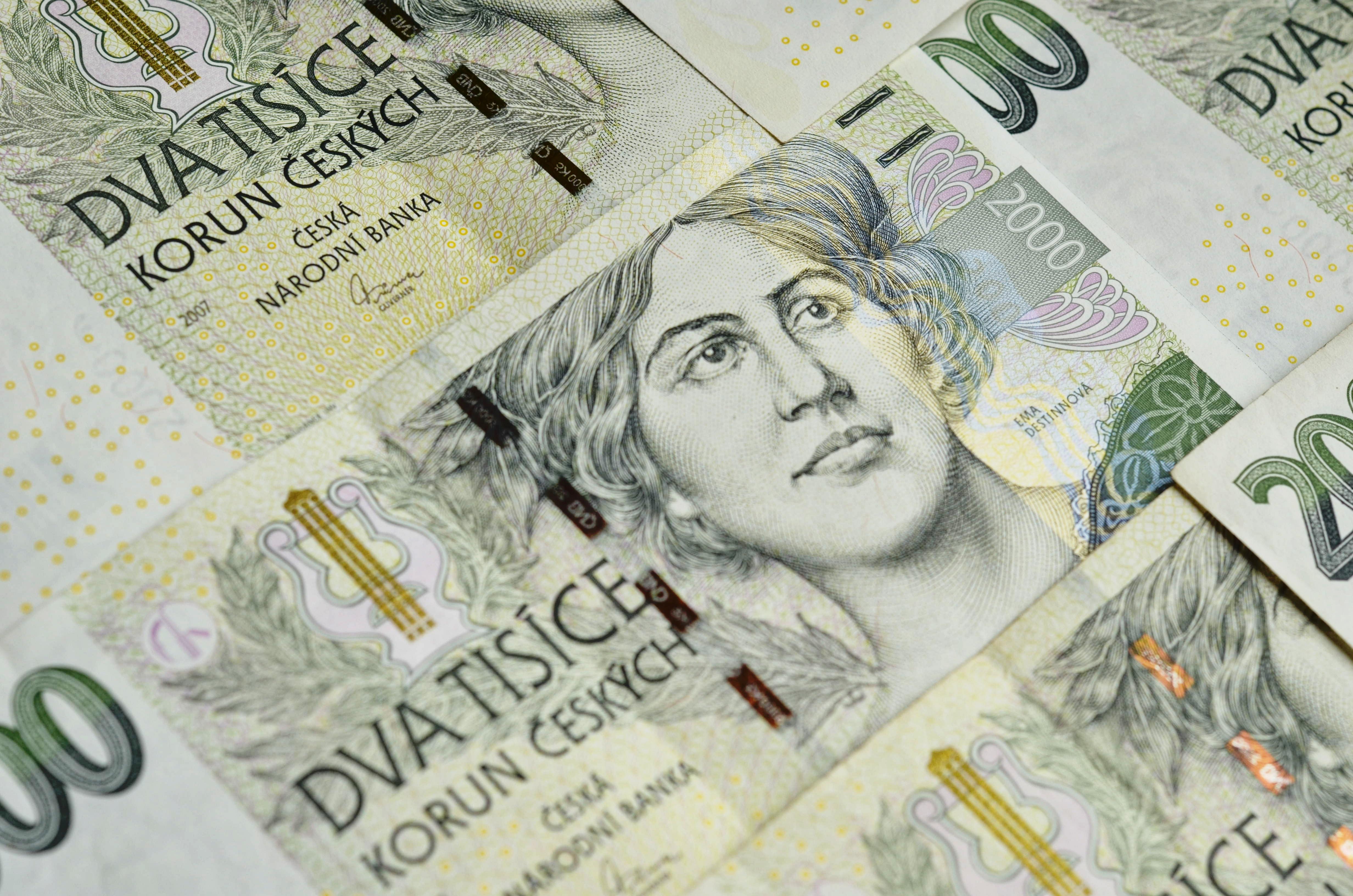 peníze ilustrační