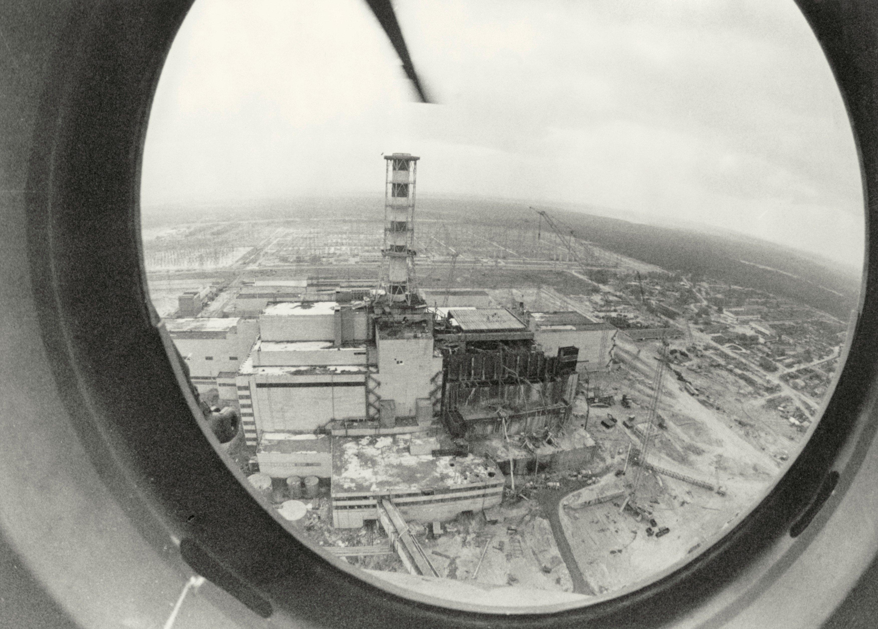 Jaderná havárie v Černobylu