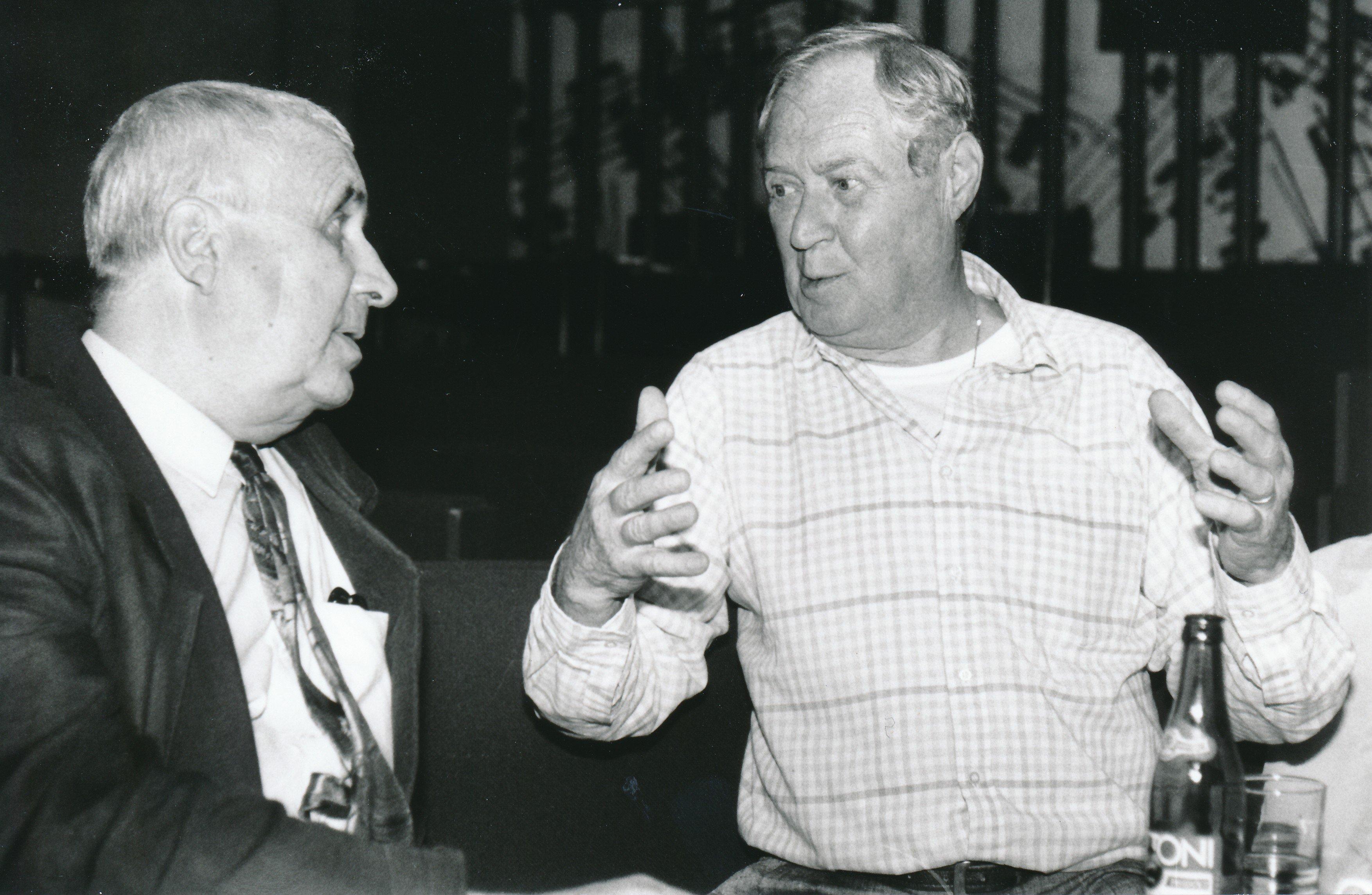 Gustav Brom a Vladimír Škutina