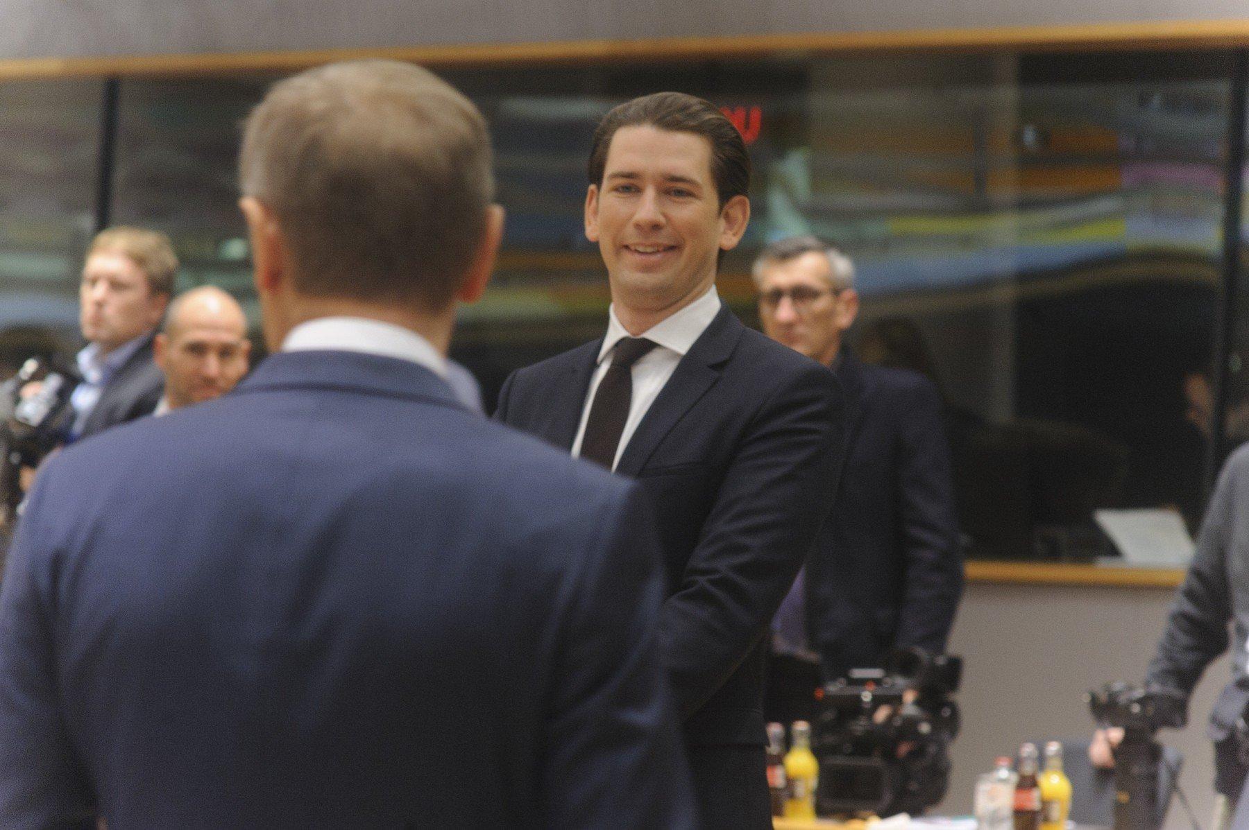 Rakouský kancléř Sebastian Kurz pěstuje svůj obraz evropského státníka nové generace