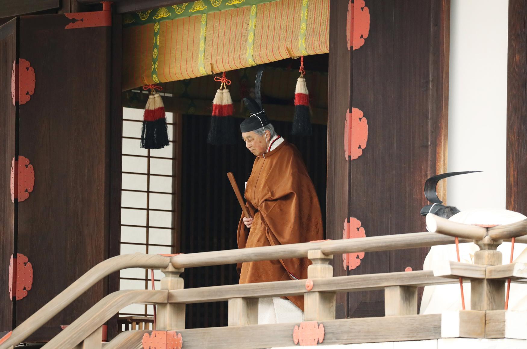 Japonský císař Akihito odstupuje