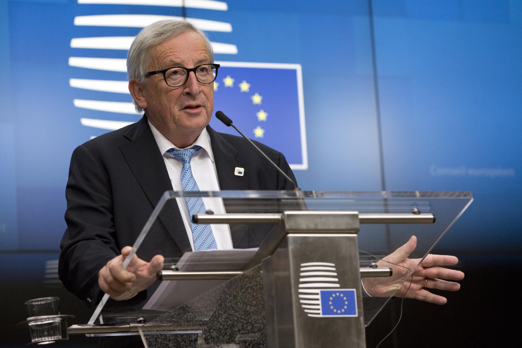Předseda Evroposké komise Jean-Claude Juncker