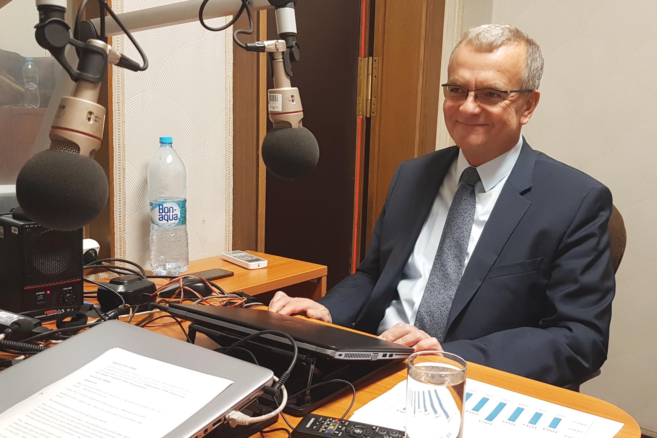 Předseda poslaneckého klubu TOP 09 Miroslav Kalousek