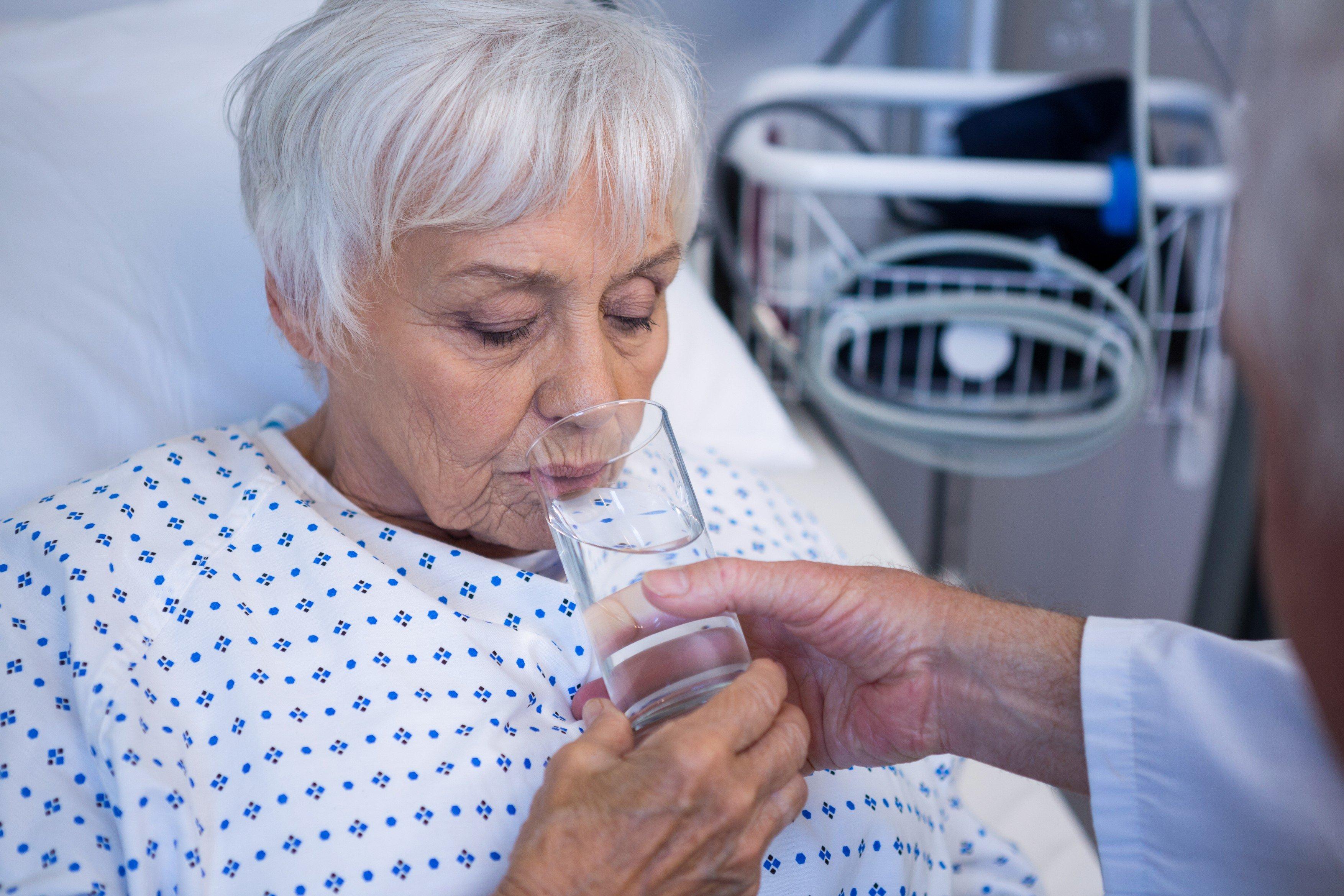 Pitný režim pacientů (ilustrační foto)