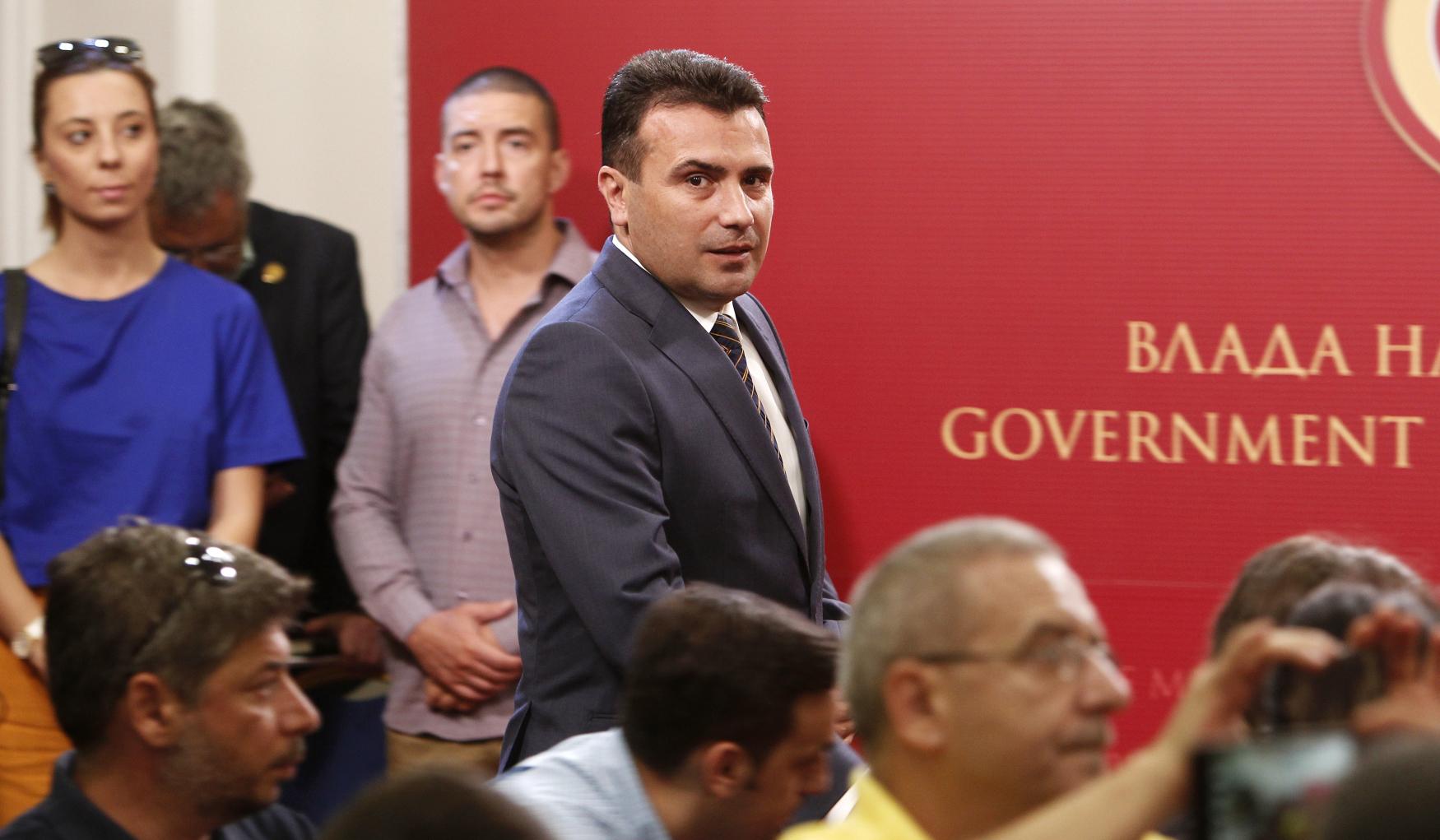 Makedonský předseda vlády Zoran Zaev