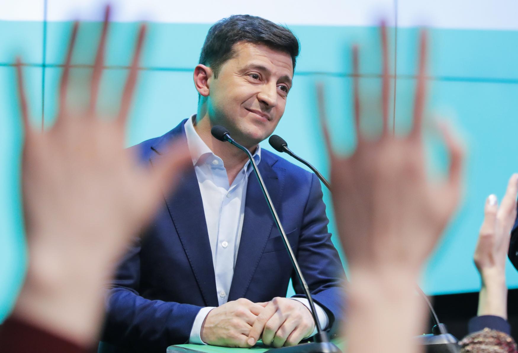 Volodymyr Zelenskyj, nový ukrajinský prezident