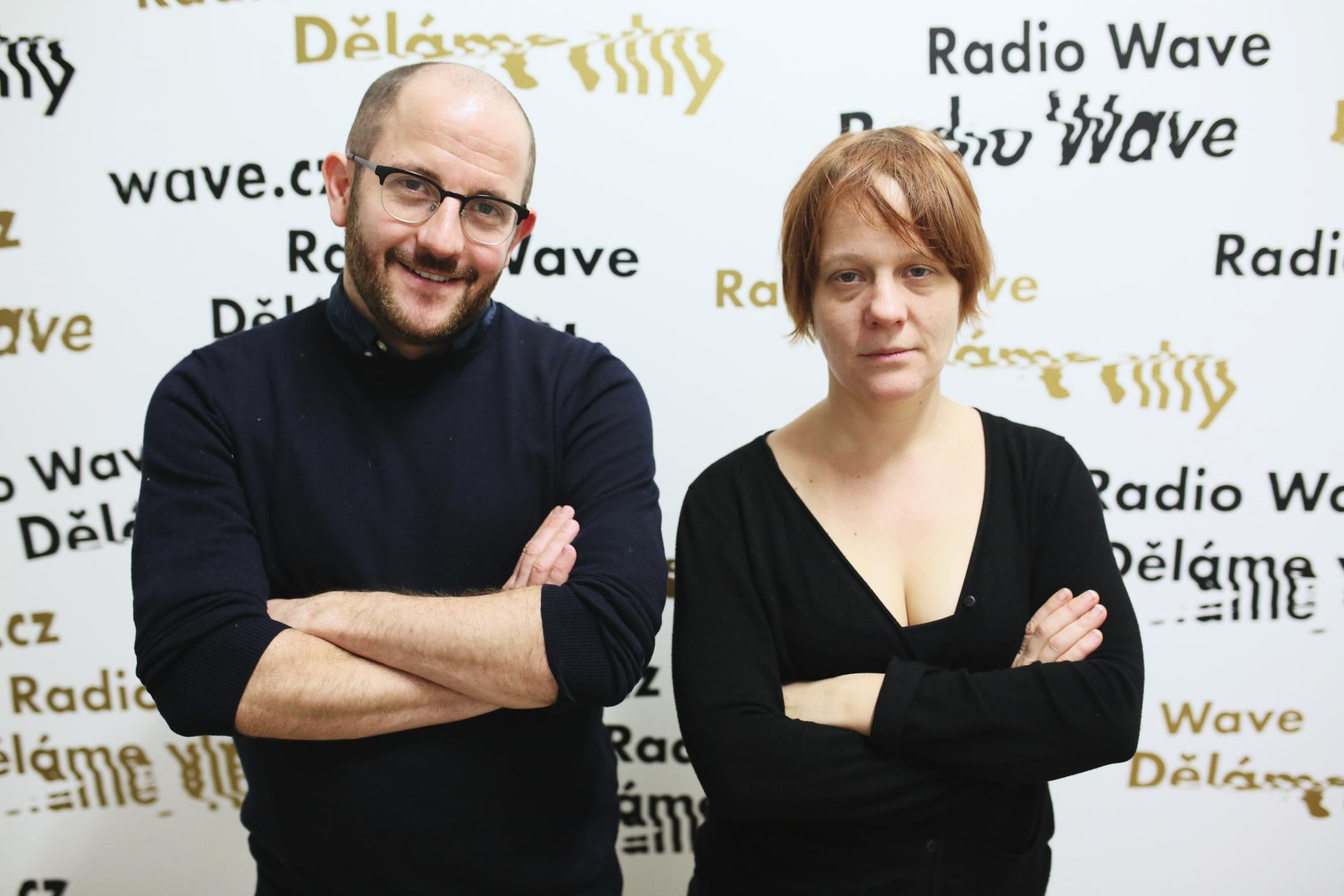 Daniel Prokop a Saša Uhlová