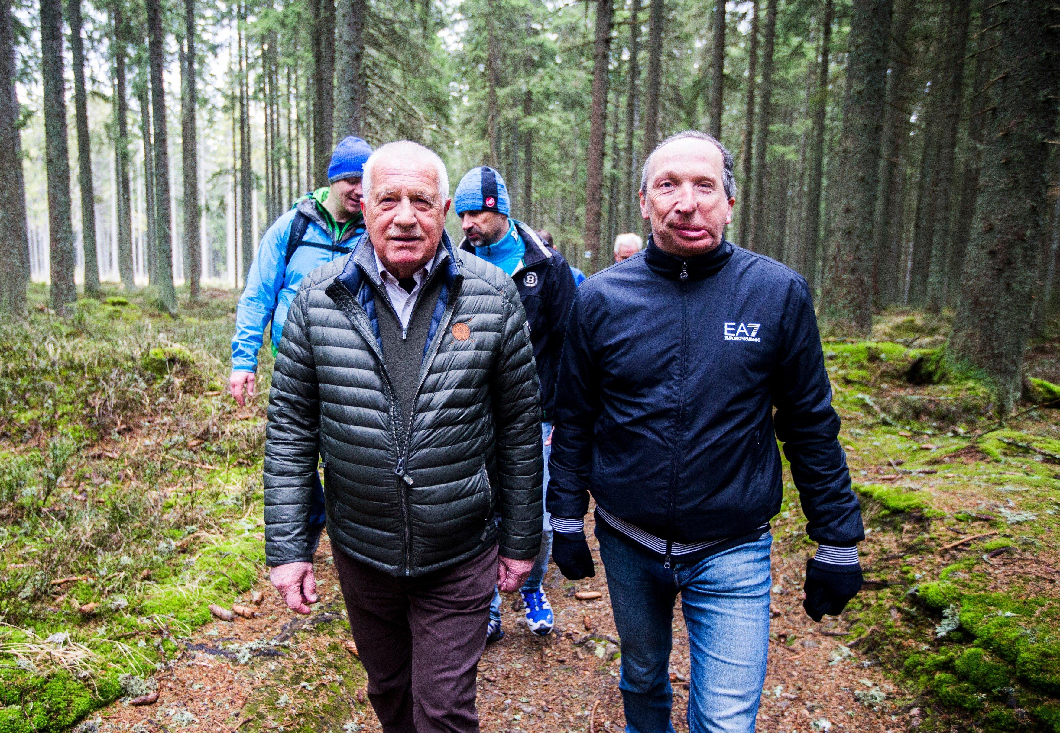 Václav Klaus otec a syn