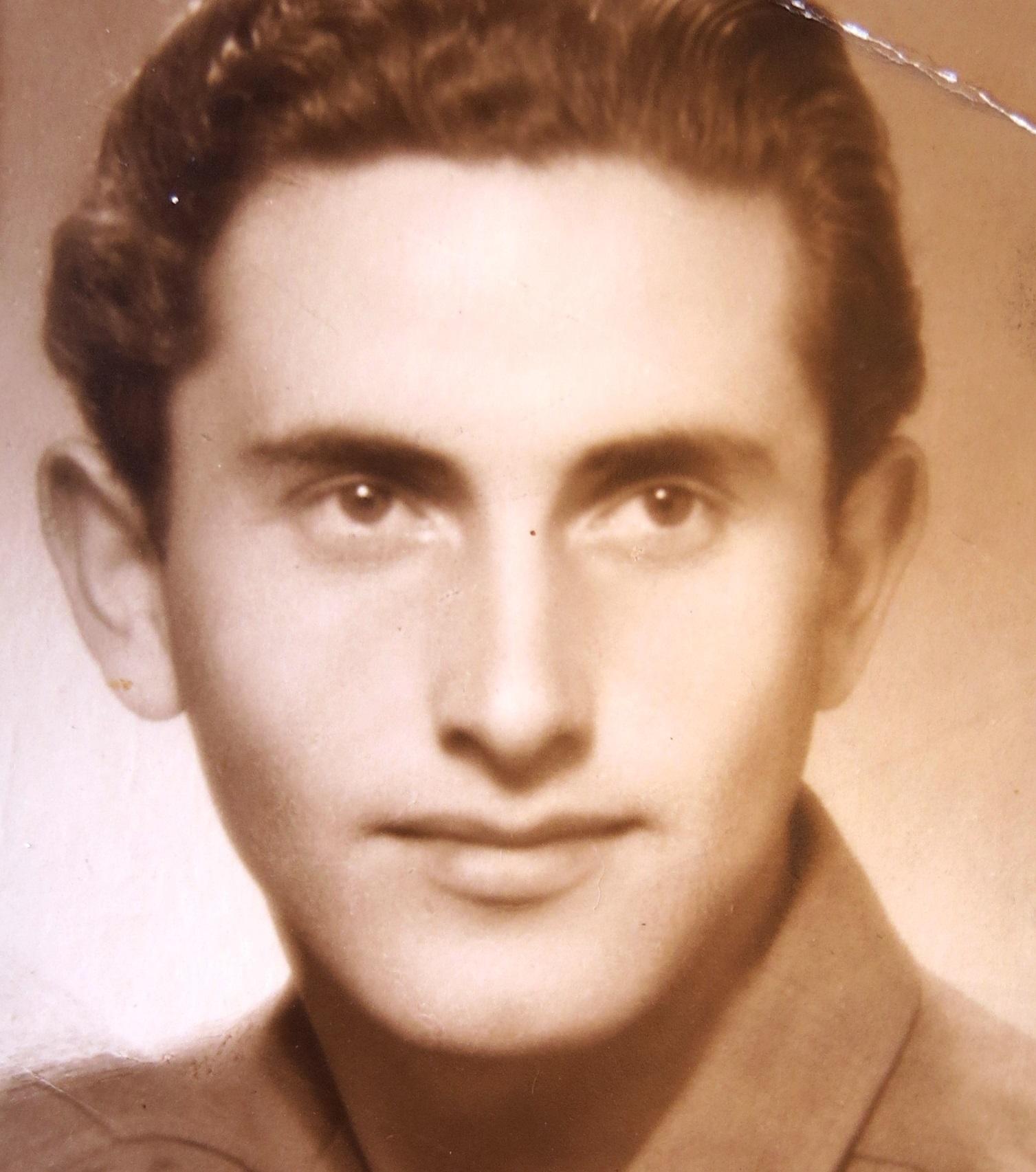 Antonín Moťovič. Praha, začátek 50. let 20. století