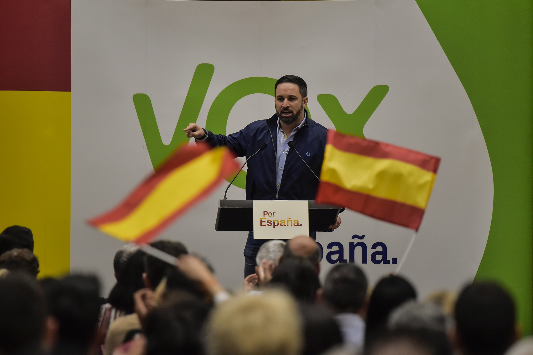 Santiago Abascal, lídr strany Vox