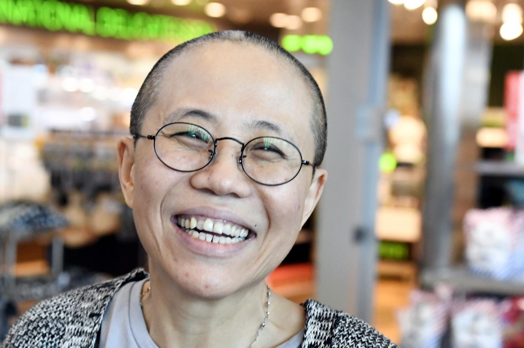 Liou Sia, vdova po zemřelém čínském nositeli Nobelovy ceny za mír