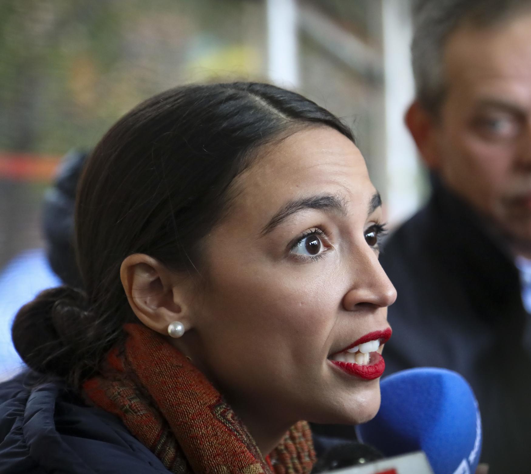 Demokratická kandidátka do Kongresu Alexandria Ocasio-Cortezová