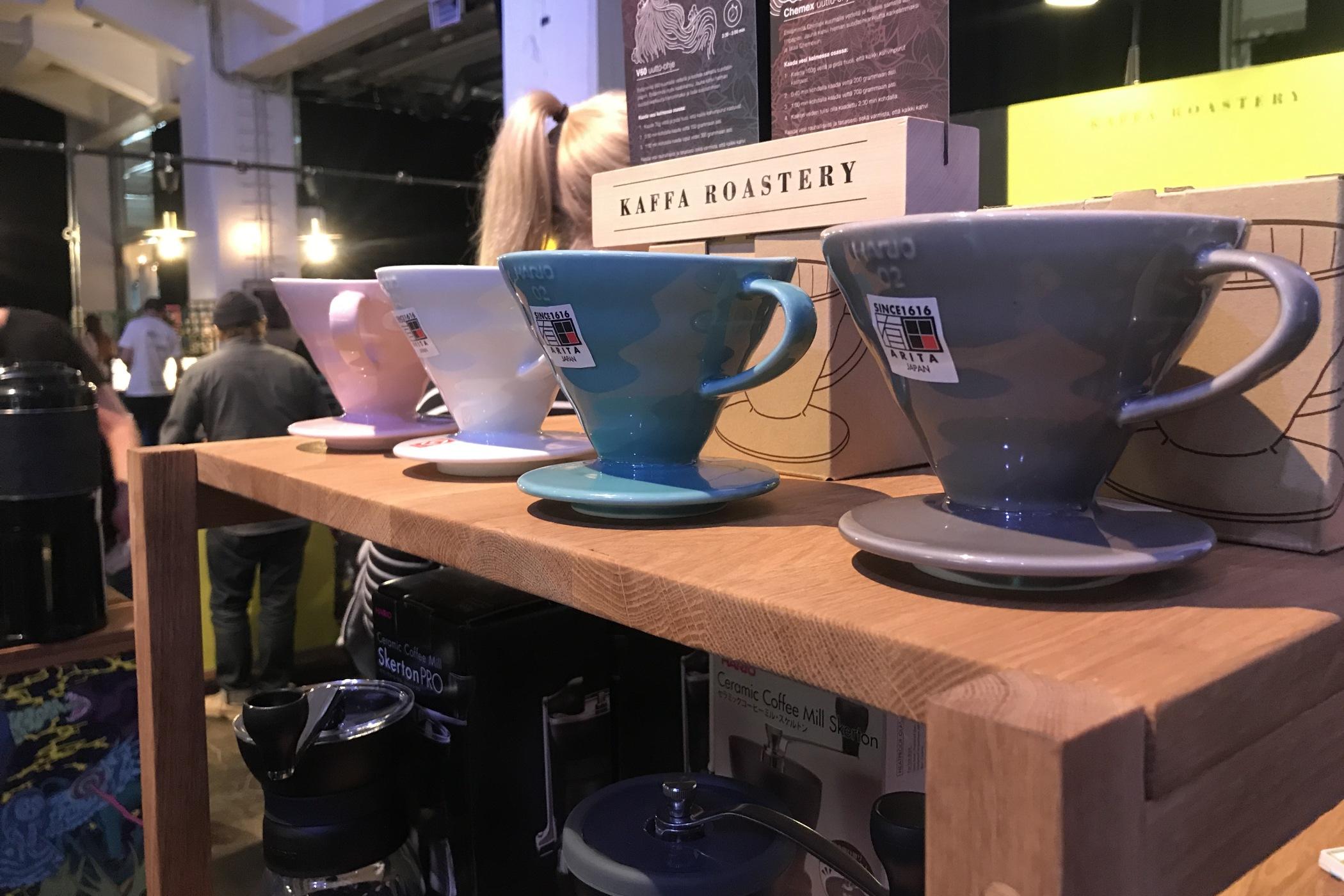 Kávový festival v Helsinkách